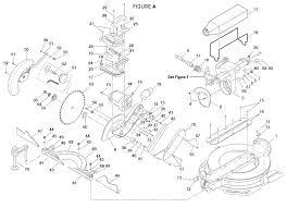 compound miter saw parts. blade parts compound miter saw