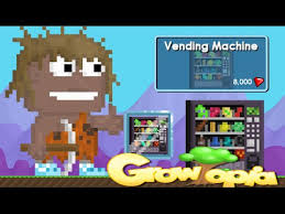 How To Make Vending Machine In Growtopia Cool Growtopia Buying A Vending Machine YouTube