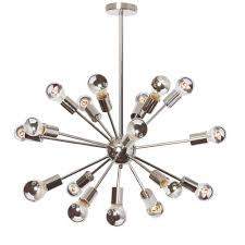 filament design 18 light polished chrome chandelier