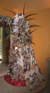 Asian inspired Christmas tree design