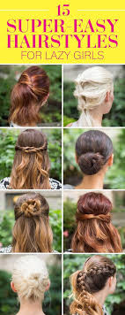 Easy Hairstyles For Girls 65 Inspiration 24 Super Easy Hairstyles For 24 Three Step Hairstyles For Girls