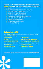 fahrenheit sparknotes literature guide details   fahrenheit 451 sparknotes literature guide additional photo inside page
