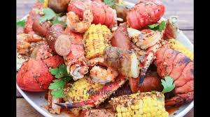 Seafood Boil with Creole Butter Sauce ...
