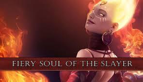 fiery soul of the slayer lina arcana preview dota 2 youtube