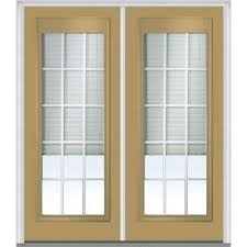 front door blindsBlinds Between the Glass  Steel Doors  Front Doors  The Home Depot