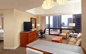 Downtown Los Angeles Accommodation One Bedroom Tower Suite The - One bedroom suite