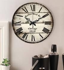 big wall clock by random