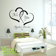 Love Wall Quotes Amazing Stick On Wall Art Stick On Wall Art Quotes Complex Murals Love Wall