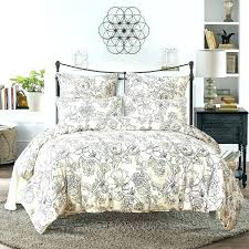 grey king size bedding set silver super and white