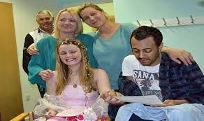 لندن - بريطانية تتزوج من عربي قبل وفاته بثلاث ايام