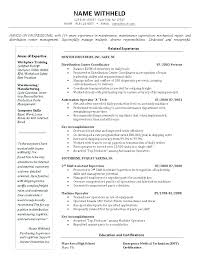 Inventory Control Resume Magnificent Sample Production Management Resume Inventory Management Resume