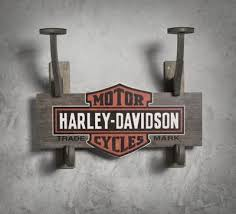 Harley Davidson Coat Rack Enchanting Wooden Helmet Jacket Rack Everything Harley Davidson Pinterest
