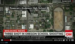 cnn just got caught in major lie about this school shooting cnn isn t known for its honesty in reporting but the headlines speak for themselves in this story they claim there is a school shooting in oregon and it s