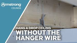 hang a drop ceiling without hanger wire armstrong ceilings for the home