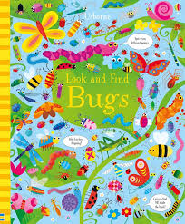 """<b>Look and find</b> bugs"" at Usborne Children's Books"