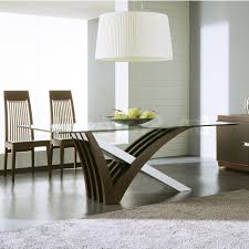 Round Glass Tables For Kitchen Round Glass Dining Table Set Long Dining Table White Wooden Frame