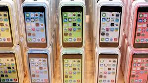 iphone no contract. the apple iphone 5c at an store in palo alto, calif. iphone no contract