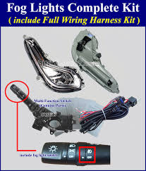 fog light lamp complete kit wiring harness for 2012~2016 hyundai fog light lamp complete kit wiring harness for 2012~2016 hyundai accent mf switch