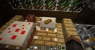 i found a way to make plates in vanilla item frame placed then put the item in then place a metal pressure palte on top