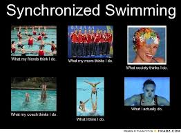 Synchronized Swimming on Pinterest | Swimming, Stick It and Meme via Relatably.com