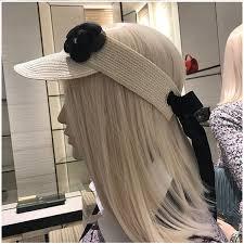 Paper Flower Hats 01808 Paper Flower Long Black Ribbon Bowknot Sun Lady Hat Straw Paper Leisure Without Cap Women Hat Sun Hats Sun Hat From Vineer 24 53 Dhgate Com