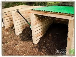 building a pallet compost bin growing a greener world tv