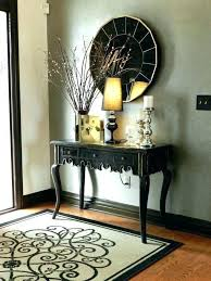 entrance table decorations console table decor foyer console table decor entrance decorations on furniture decorating ideas wedding entrance table