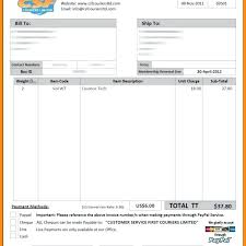 Catering Invoice Sample Gorgeous Courier Invoice Format Excel Catering Resume In Template Membership