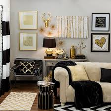 Small Picture Bring home big city style with metallic gold and black decor