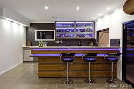 contemporary bar furniture for the home. Image Of: Hidden Lights Dark Barstools Contemporary Home Bar Wine Bottles Furniture For The