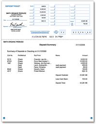 Printable Deposit Slips 1 Part Qbbob Com