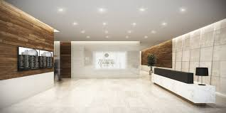 lobby office. Rendering Of The Lobby Office Condos Building.