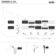 stingray 5 basses ernie ball music man Music Man Bass Wiring Diagram at Music Man Axis Wiring Diagram