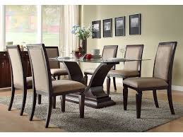 glass dining room table sets dining room chairs mind blowing