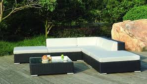 columbia patio furniture outdoor wicker sectional with a modern