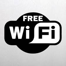 Free Sign Free Wifi Cafe Stickers Free Wifi Signs Shop Online