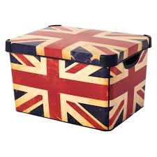 Decorating Storage Boxes American Flag Storage Box Contemporary Style Decoration With Flag 3