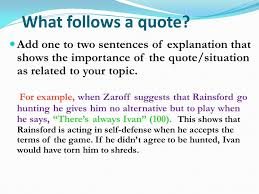 Quotes In A Sentence Simple How Do I Correctly Use Quotations In An Essay EvidenceQuotations