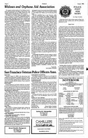 Official Publication Of The San Francisco Police Officers