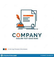 Logo Design Contract Template Contract Paper Document Agreement Award Logo Design