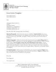 Academic Cover Letter Sample Template Svoboda2 Com