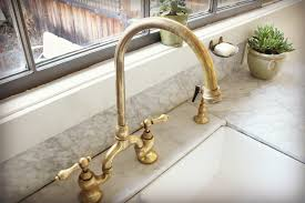 polished nickel kitchen faucet house