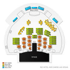 Chippendales Seating Chart Rio Chippendales Las Vegas Tickets 11 30 2019 8 30 Pm Vivid