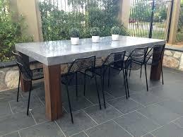 diy outdoor table. Diy Outdoor Table Dining Beautiful Design Concrete Unusual