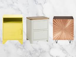 Home, Furniture & DIY White <b>Bedside Table</b> with <b>2</b> Drawers Storage ...