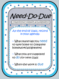 Class Agendas The Student Agenda If You Have One Why Dont You Use It
