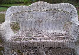 how to care for wicker furniture
