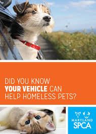 Your Vehicle Can Help Homeless Pets! - Maryland SPCA