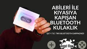 Sen Gel 99 TL lik Fiyatınla 300 TL lik kulaklıklara Rakip Ol / QCY-T1C Bluetooth  Kulaklık - YouTube