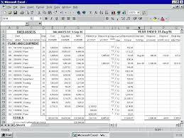 Fixed Asset Depreciation Schedule Fixed Assets Asset Inventory List Template And Sheet Sample Register